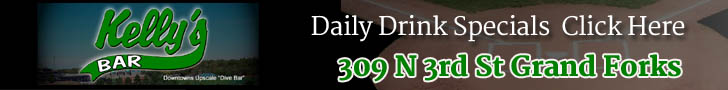 Kellys Bar Grand Forks ND 58203 Daily Drink Specials