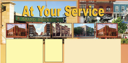 At Your Service header